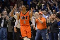 Westbrook's streak stopped; Warriors rebound from loss