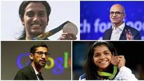 Padma awards list features Olympians Sakshi, Sindhu, global CEOs Nadella, Pichai