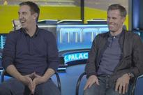 Gary Neville has just made his return to Sky Sports VERY awkward after answering hilarious question