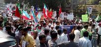 Where Is Najeeb? Protest Rally In Mumbai