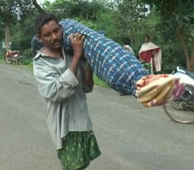 Carrying dead wife: Odisha hospital gets clean chit