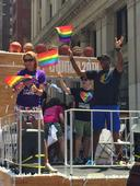 NBA, WNBA Are First Pro Sports Leagues to March in NYC LGBT Pride Parade