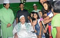 Naveen felicitates JEE Advance students
