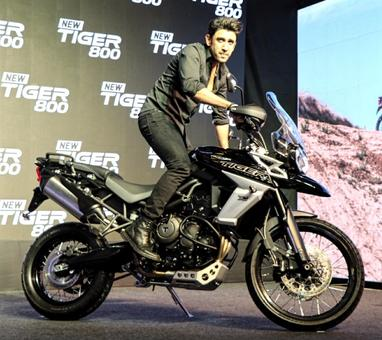 Triumph launches its Tiger 800 range of bikes in India