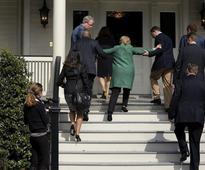 Hillary Scare: Struggles to Climb Single Stair