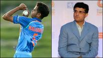 Did Sourav Ganguly just scout India's future pacers from U-19 team?