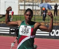 Semenya over the moon after historic feat
