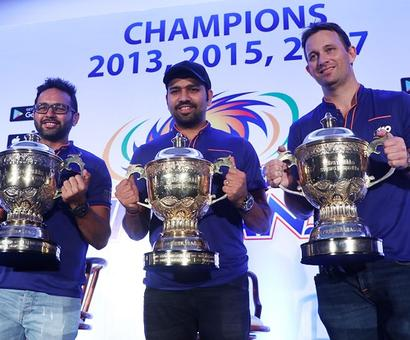 Winning the IPL thrice a 'big achievement' for Rohit