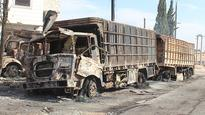 Assistance to Syria Suspended After Attack on Aid Convoy