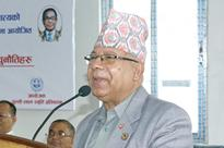 Madhav Kumar Nepal for timely elections to implement Constitution