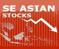 Southeast Asian stock mostly lower