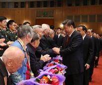 Chinese leaders watch gala marking 80th anniversary of Long March victory