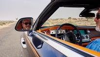 The unbelievable thrill of driving a Rolls-Royce Dawn in the deserts of Dubai