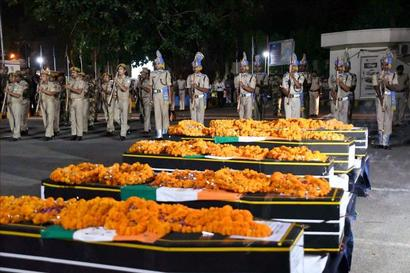 Truck carrying Sukma martyrs' bodies stopped for Bihar CM's convoy?