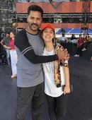 Perfect Moment: When Kaalakandi Actress Isha Talwar met Dance Maestro Prabhudeva