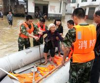 Rain swamps Jiangxi homes