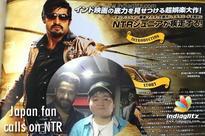Japan fan calls on NTR