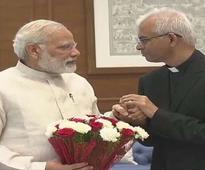 Fr Uzhunnalil meets PM, thanks everyone for help