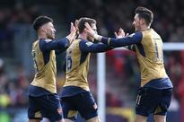 Arsenal win at Bournemouth, Manchester United held by Chelsea