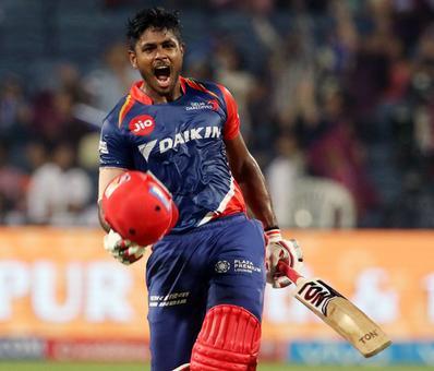IPL PHOTOS: Samson hits century as Delhi demolish Pune
