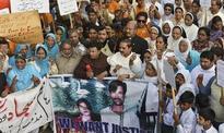 Pakistan sentences five to death over burning...