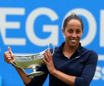 Caroline Garcia and Madison Keys celebrate title wins