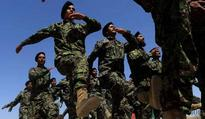 Afghan army cadets graduated from Pakistan Military Academy