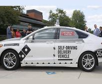 Dominos and Ford Team up for Driverless Pizza Delivery Test