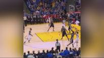 Stephen Curry nails smooth three-pointer