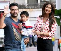 Shilpa and Raj's son's b-day was a star-studded affair