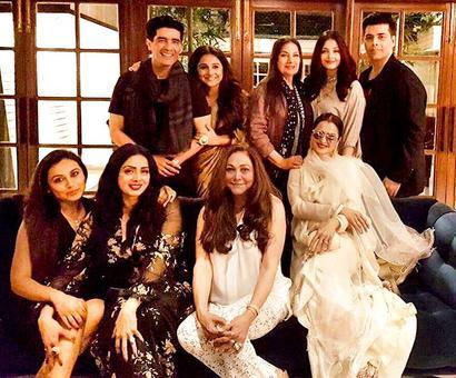 PIX: Sridevi parties with Rani, Rekha, Aishwarya