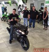 Kawasaki Helps Arizona Motorcyclist