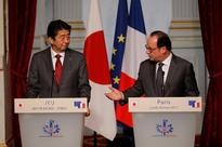 France, Japan back free navigation in Asia-Pacific, Abe says