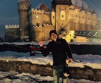 U.S. actors Jeffrey Dean Morgan and Aaron Eckhart shoot commercial in Romania