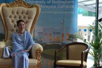 Royal visit at University of Nottingham campus in Malaysia