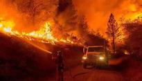 After Wildfire, Southland of California experiences heavy rainfall of 4-6 inches in the foothills and 2-4 inches in coastal areas