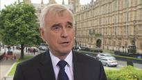 John McDonnell: Corbyn not going anywhere