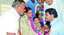 Jagan Mohan Reddy visits kin of naval staff on missing IAF aircraft