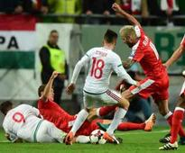 Switzerland beat Hungary 3-2 in World Cup qualifier