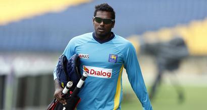Fit-again Mathews to lead Lanka in Champions Trophy, Malinga back too