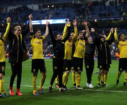 PHOTOS: Dortmund beat Real to top spot, Porto crush Leicester