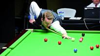Stephen Maguire pins down Pankaj Advani