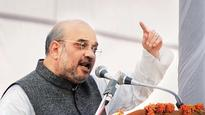 Amit Shah raises stakes to 150 plus seats in Gujarat