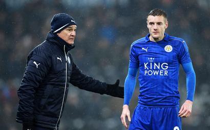 Leicester's Vardy got death threats over Ranieri sacking