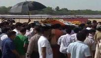 Anil Madhav Dave's last rites performed in Indore