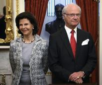 King Carl XVI Gustaf and Queen Silvia of Sweden are visiting Washington, too