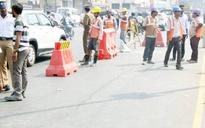 Anna Salai gets scarier: Two days after cave-in, major cracks appear on Chennai's busiest road
