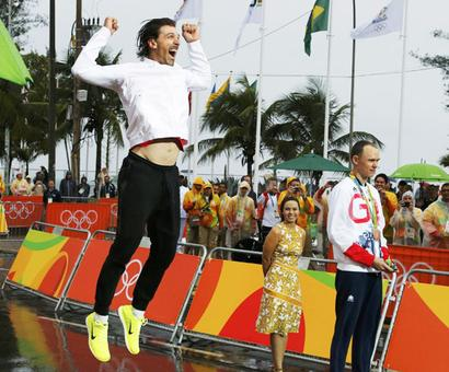 PHOTOS: The gold medallists on Day 5 at the Games