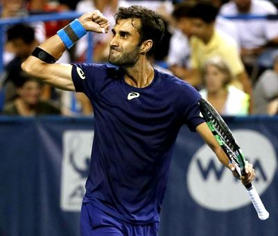 Yuki Bhambri shocks Monfils at Citi Open