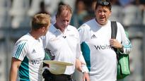 Umpire Reiffel ruled out of Mumbai Test after being hit on head